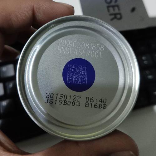 [易拉罐]光纤激光喷码机应用