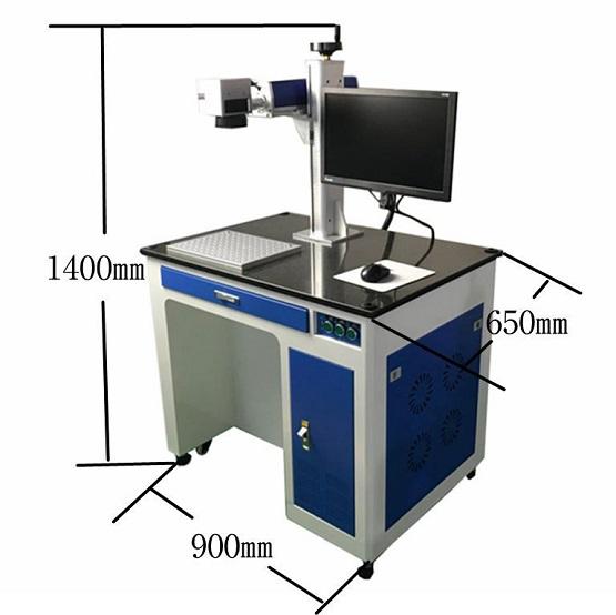 选择合适的便携式激光打标机主要取决于激光器